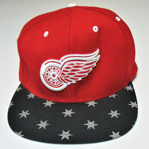 Detroit Red Wings NHL Vintage Style Snapback Cap